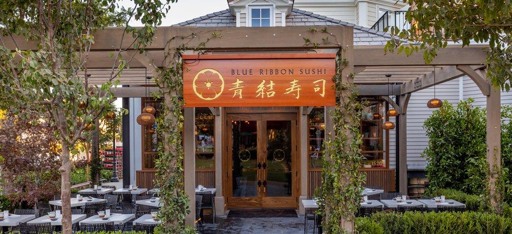 Blue Ribbon Sushi Entrance