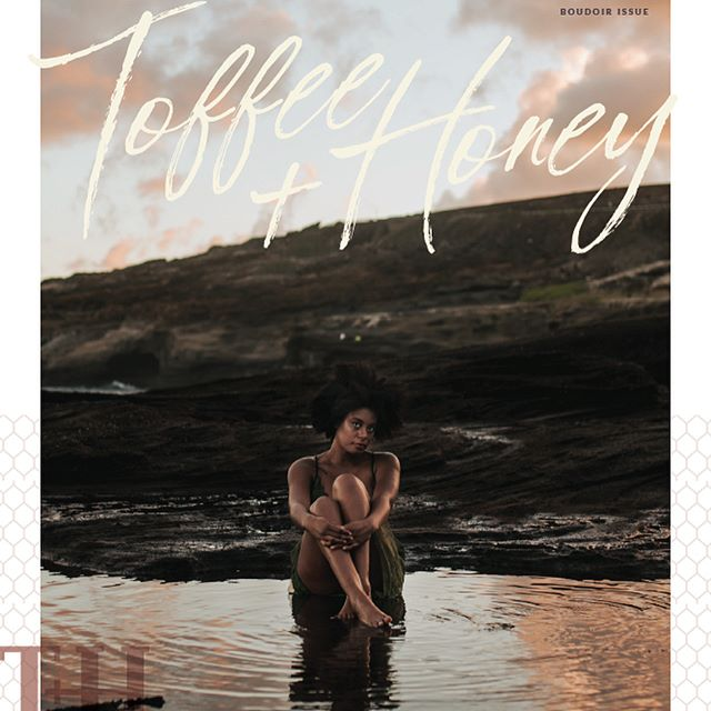 💕Toffee+Honey a monthly magazine from my friend @tomayiacolvineducation 💕there are soooo many talented photographers in each issue.  @tomayiacolvin you are the real deal - giving, smart, funny and kind 💕 thanks for including me in the mix! 💕 . . #katieloerts #katieloertsdesign #logodesigns #toffeehoneymag #tomayiacolvineducation