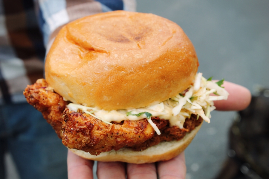 ©tigerrulezzz photography Fried Chicken Sandwich courtesy of the Southern Comfort Food Truck