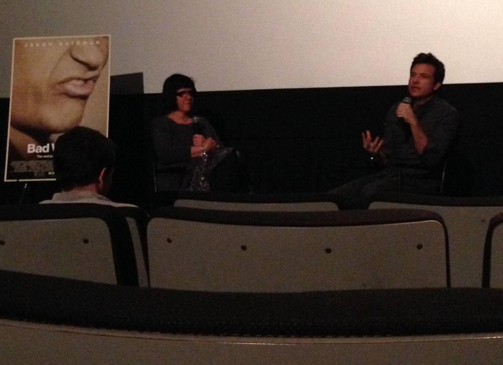 Jason Bateman at the Q and A