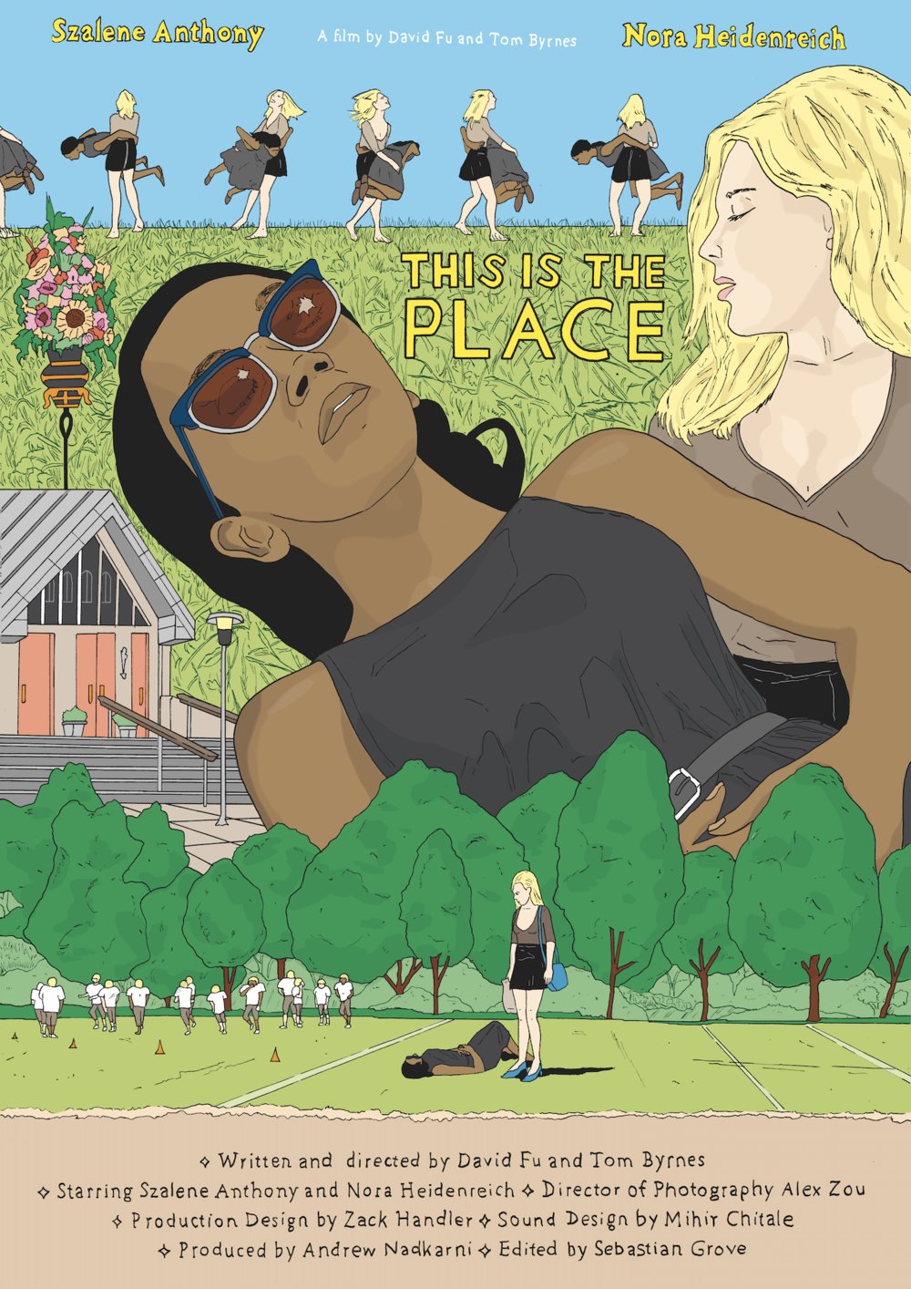 This is the Place Poster