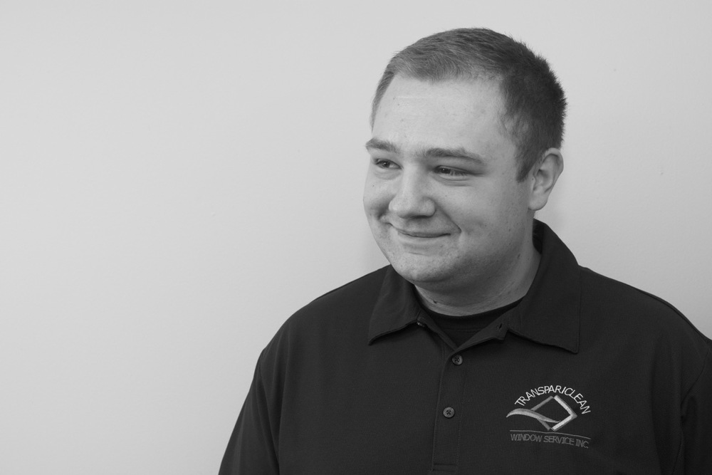 Ryan has worked his way into the hearts of our customers through his talent and great people skills. He's a very experienced window cleaner who will do a fantastic job on your home or office!