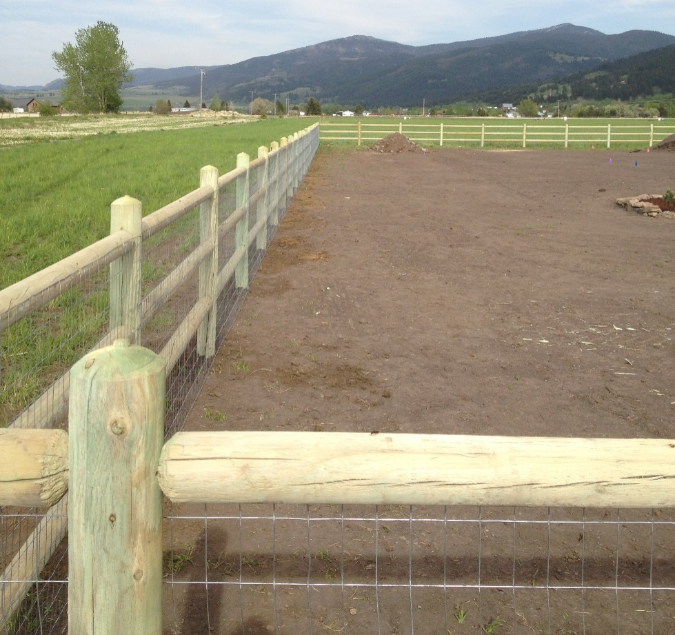 This fence is an excellent option when you want your fence to be as open as possible. There are numerous styles of this fence available, and they are very low maintenance.