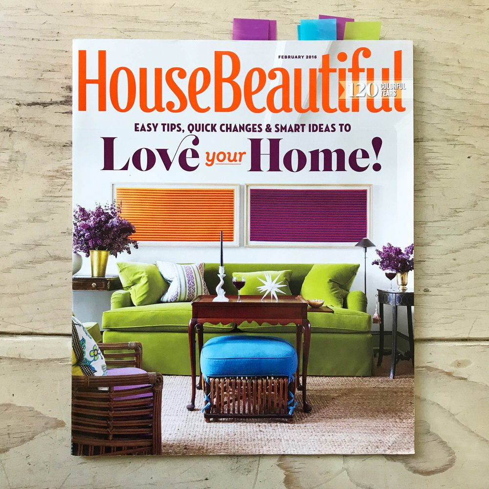 XOXO / HOUSE BEAUTIFUL -