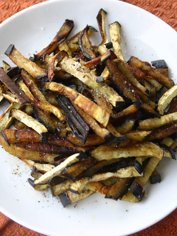 Paleo Eggplant Fries
