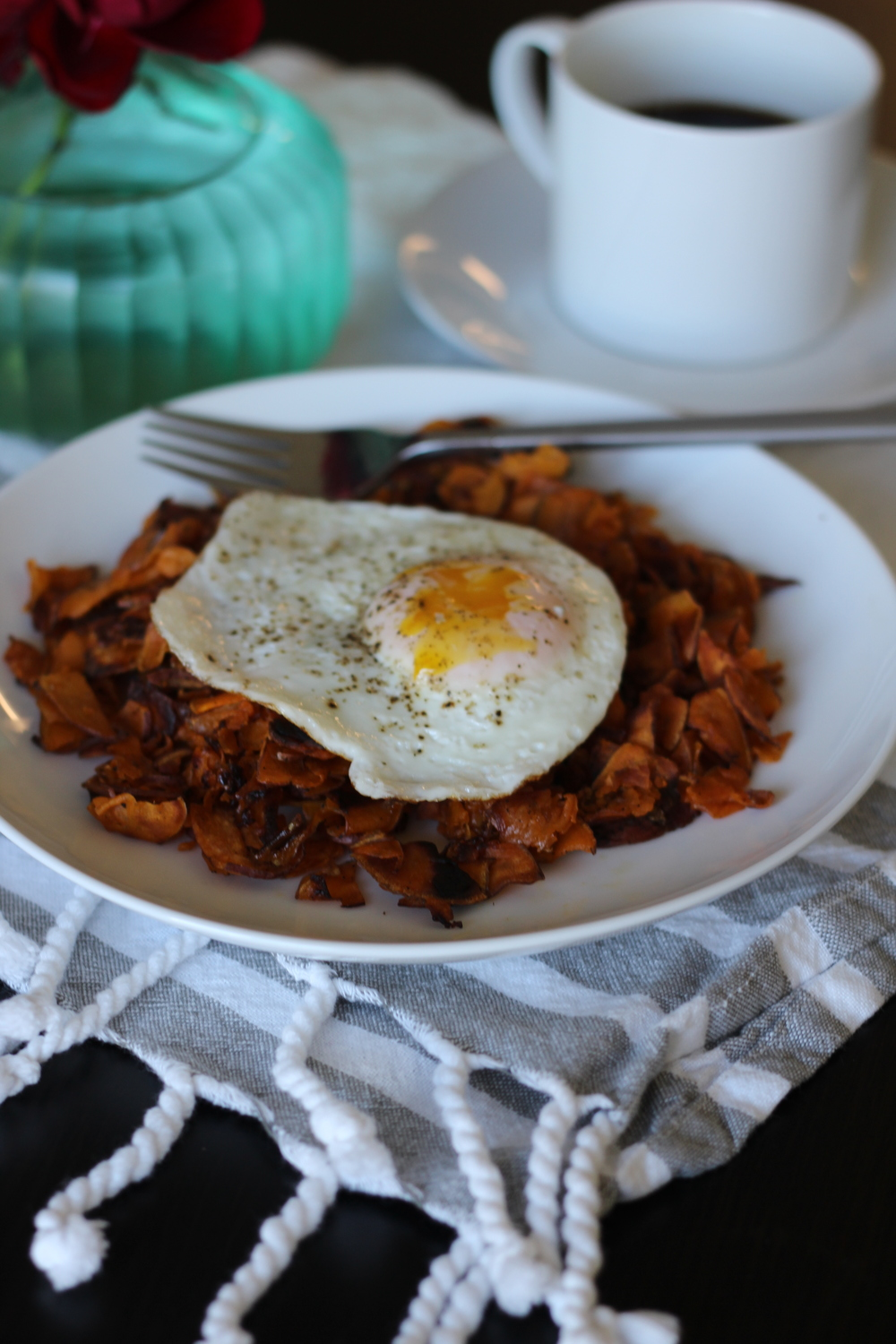 Paleo Sweet Potato Hash Browns--Freckled Italian