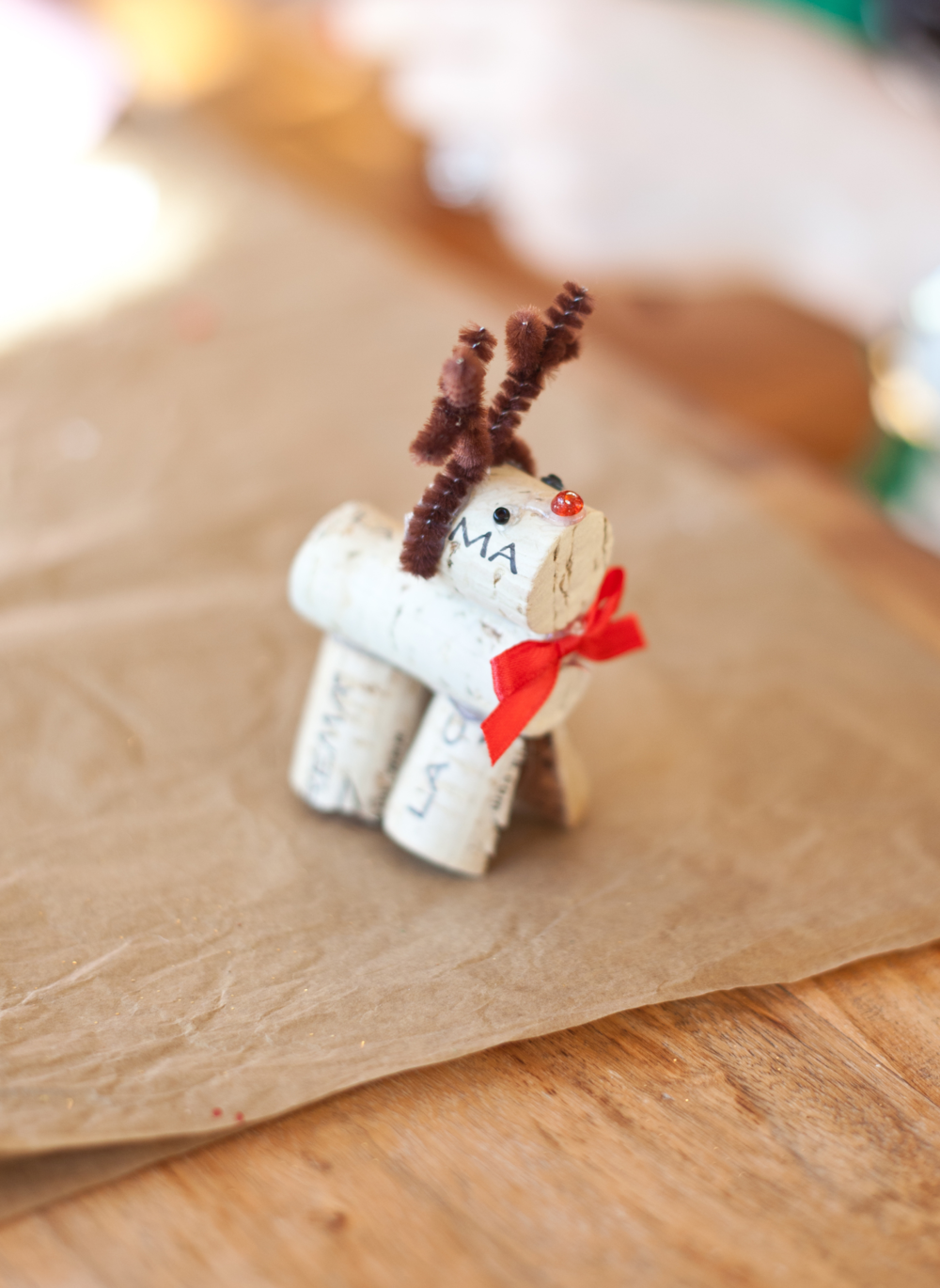 Wine Cork Christmas Ornaments | Freckled Italian