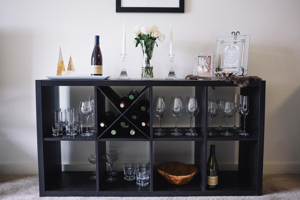 Diy Ikea Hack X Shelf Wine Rack Freckled Italian