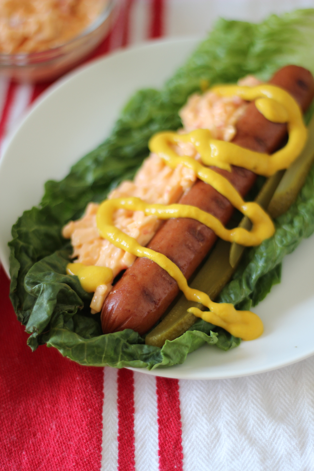 Freckled Italian | Pimento Cheese Dog