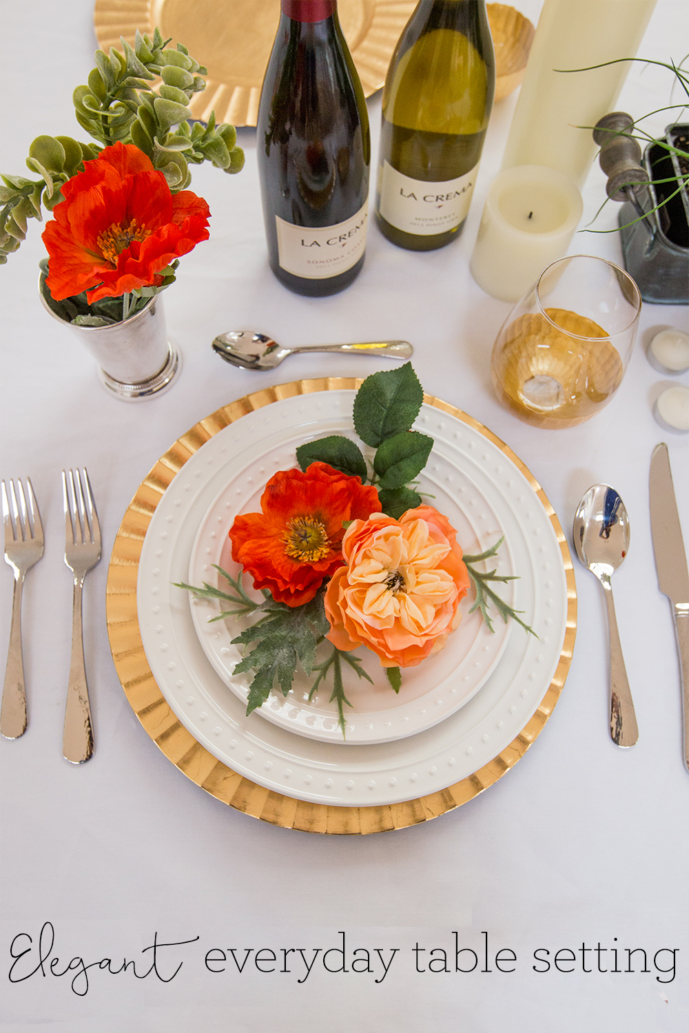 Elegant Everyday Table Setting | Freckled Italian : everyday table settings - pezcame.com