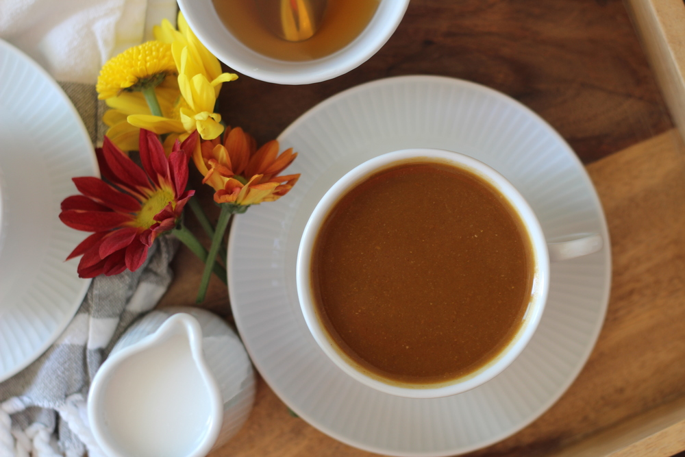 Paleo Pumpkin Spice Latte | Freckled Italian