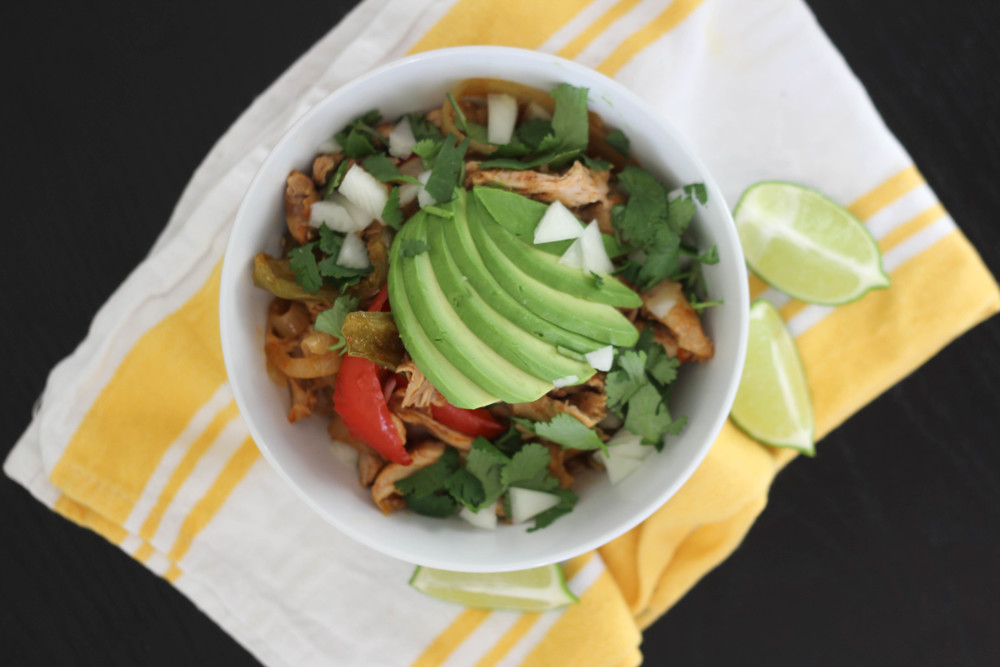 Crock Pot Paleo Mexican Chicken
