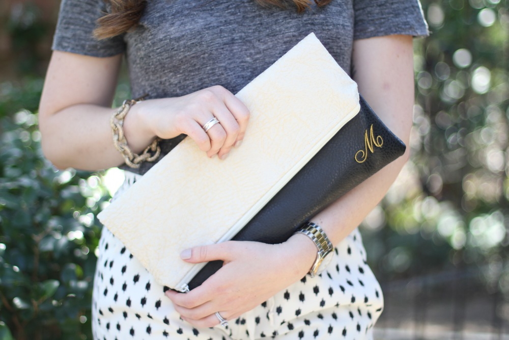 Ooh Baby Designs Foldover Clutch