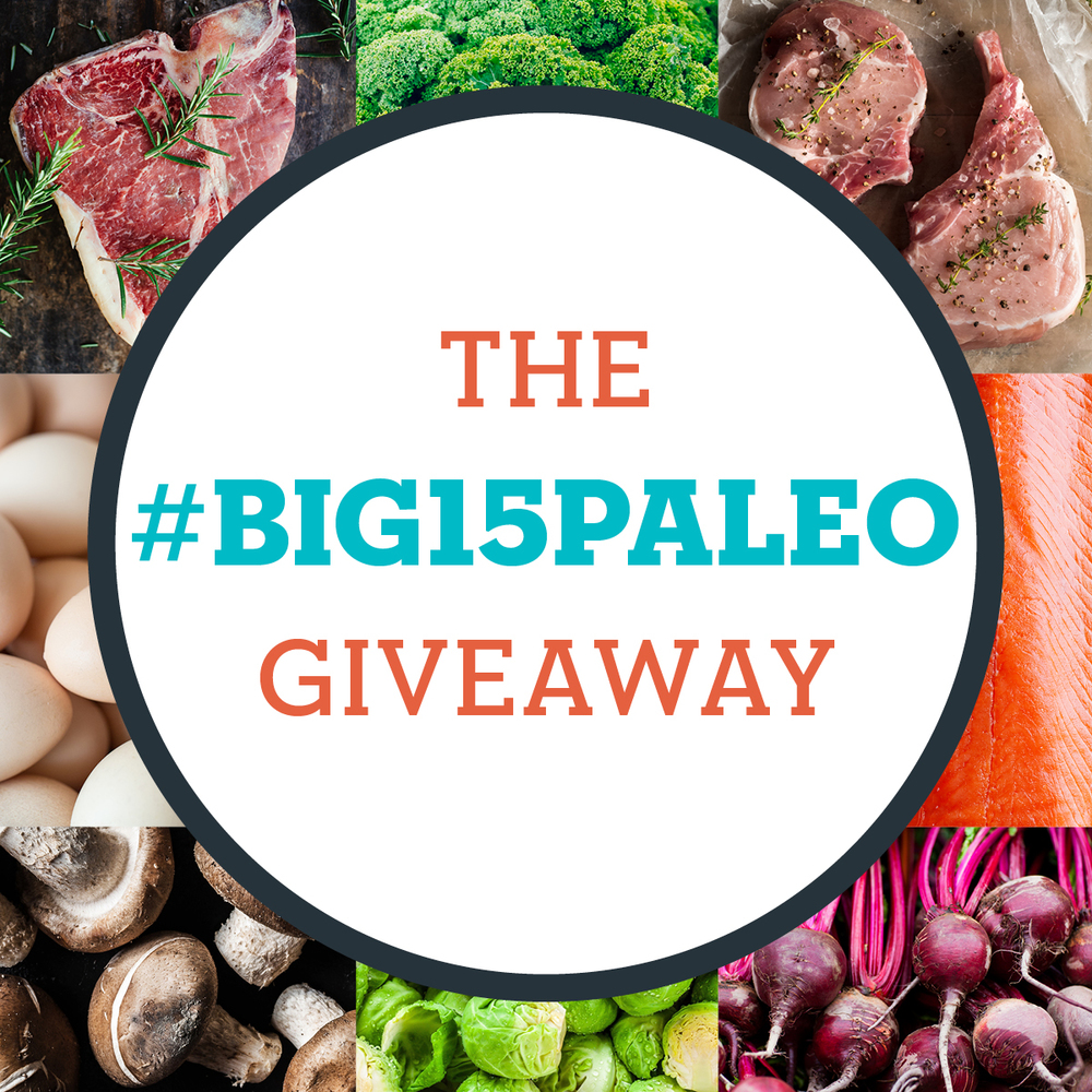 The Big 15 Paleo Cookbook Giveaway | Freckled Italian