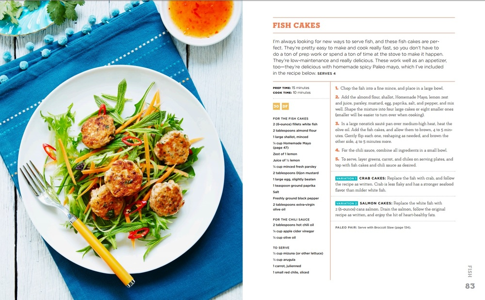 Photo by  Tanya Zouev for The Big 15 Paleo Cookbook.