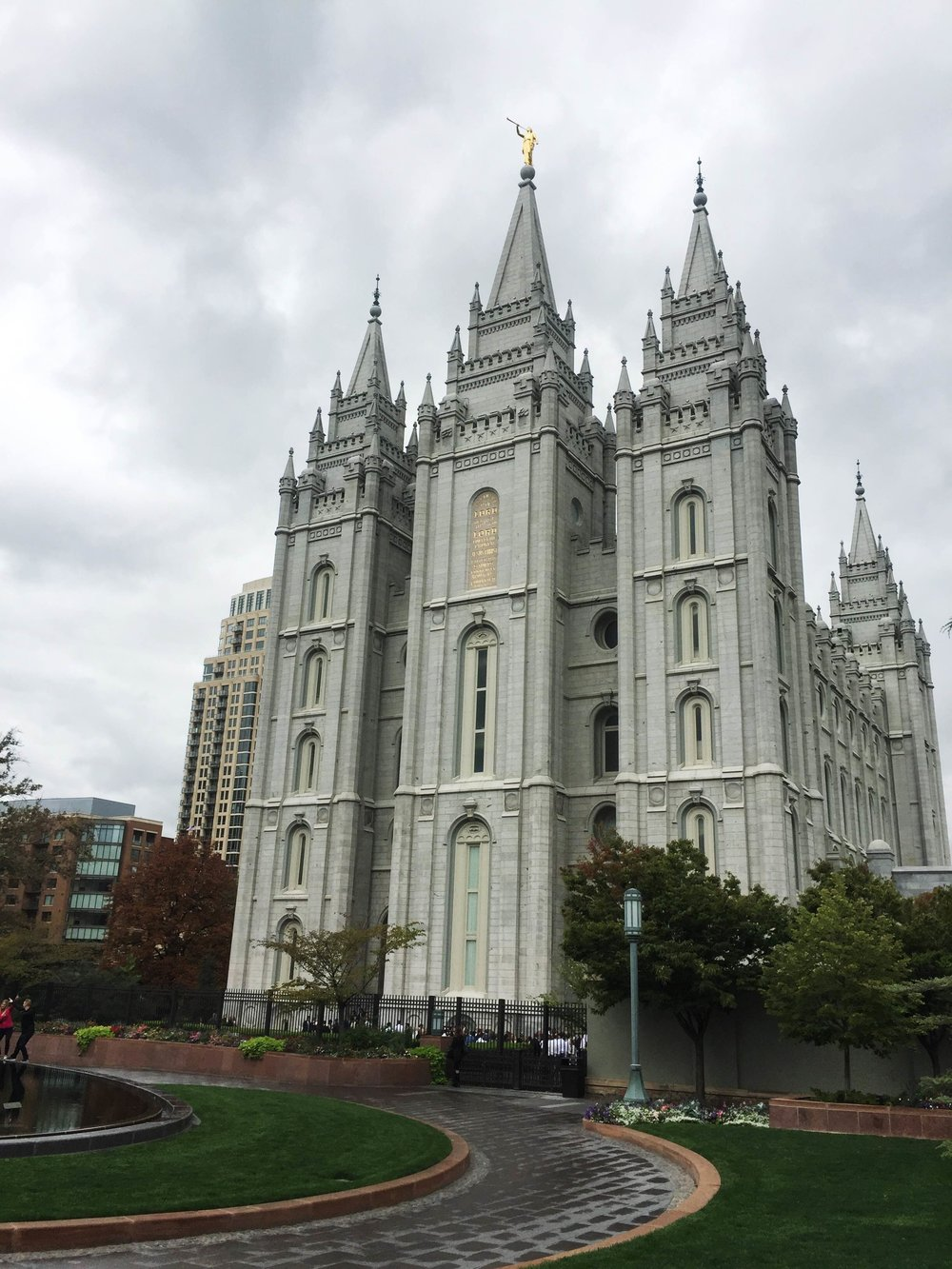 Temple Square SLC | Freckled Italian