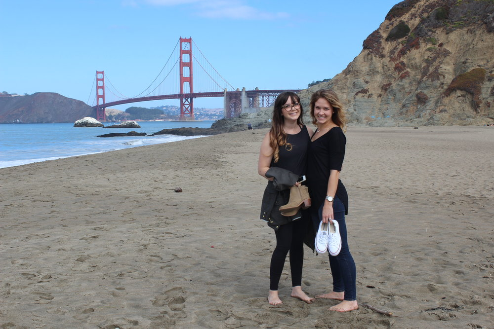 Baker Beach, San Francisco | Freckled Italian