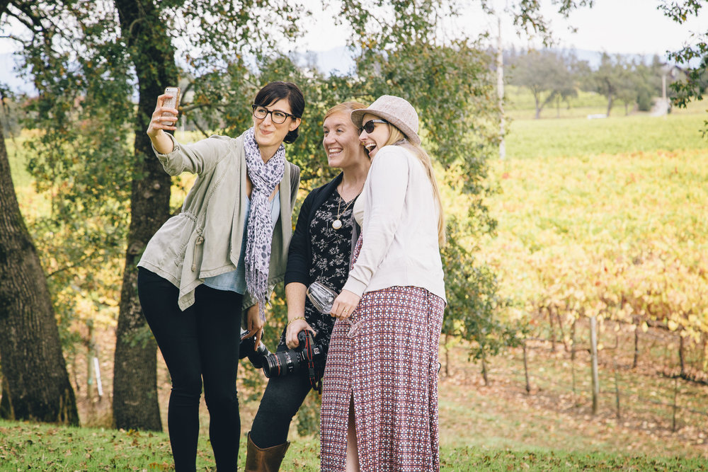 Bloggers at the La Crema Estate | Freckled Italian