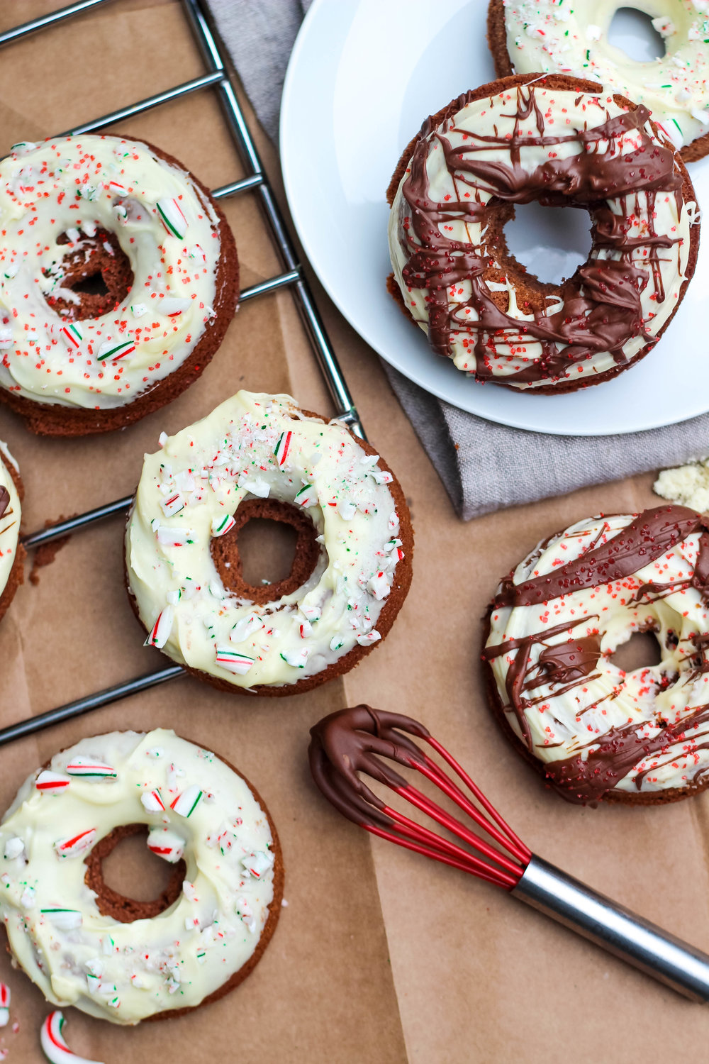 Grain-Free Holiday Donuts | Freckled Italian