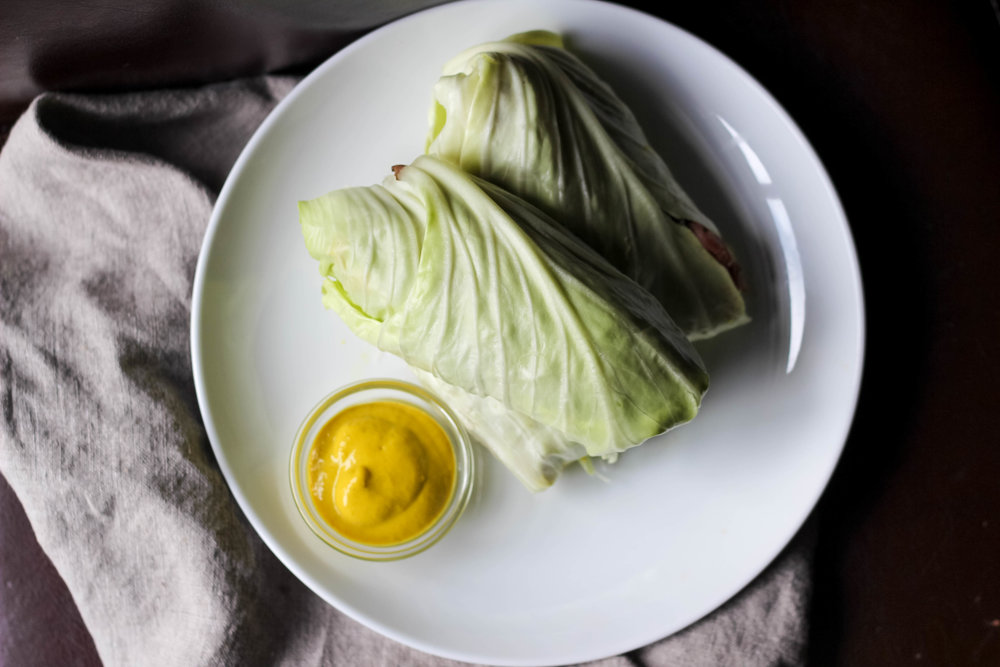 Paleo Cabbage Lettuce Wraps | Freckled Italian