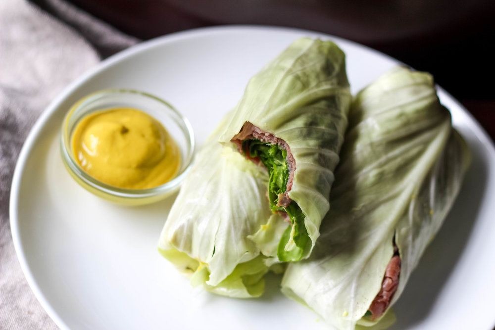 Paleo Cabbage Wraps | Freckled Italian