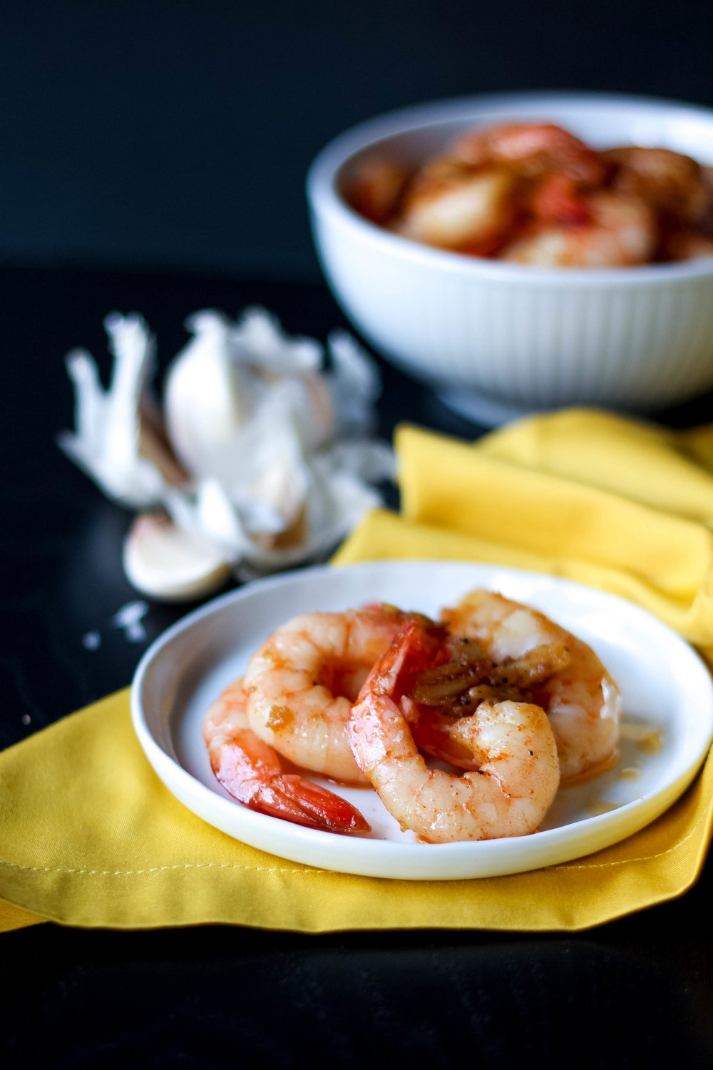 Garlicky Shrimp from Paleo Planet | Freckled Italian