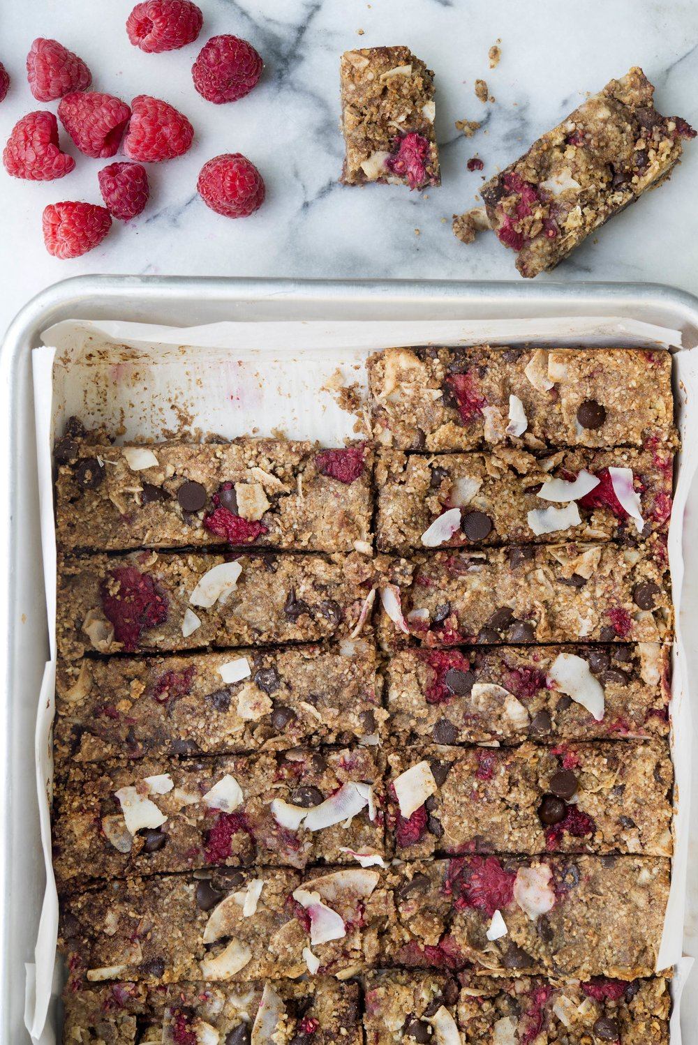 Low-Carb Granola Bars | Freckled Italian