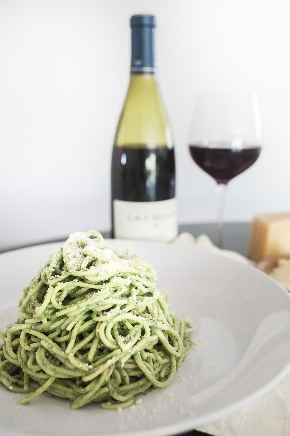 Pasta with Pesto | Freckled Italian