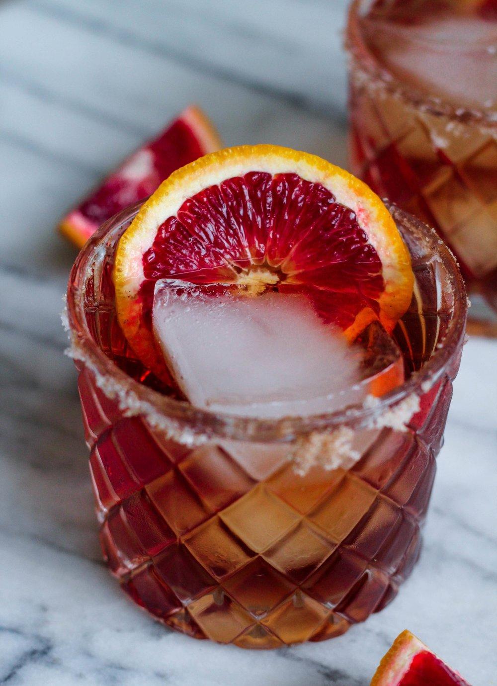 Cranberry-Orange Margaritas | Freckled Italian