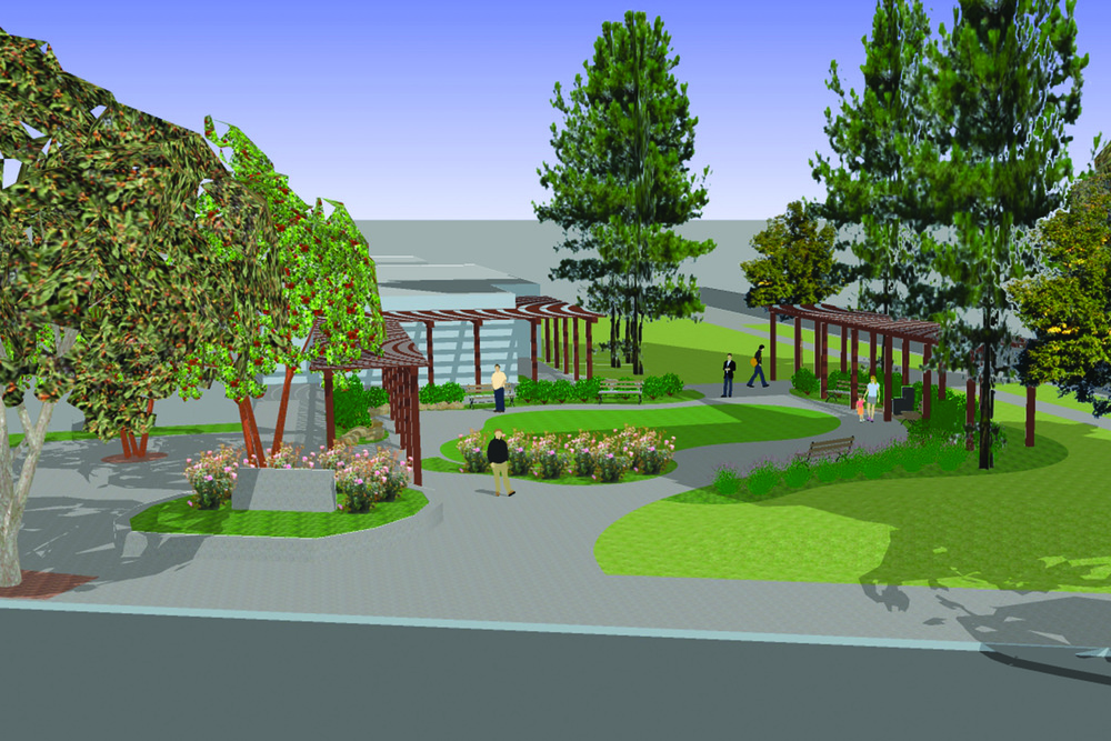 Rendering courtesy JMD Landscape Architecture.