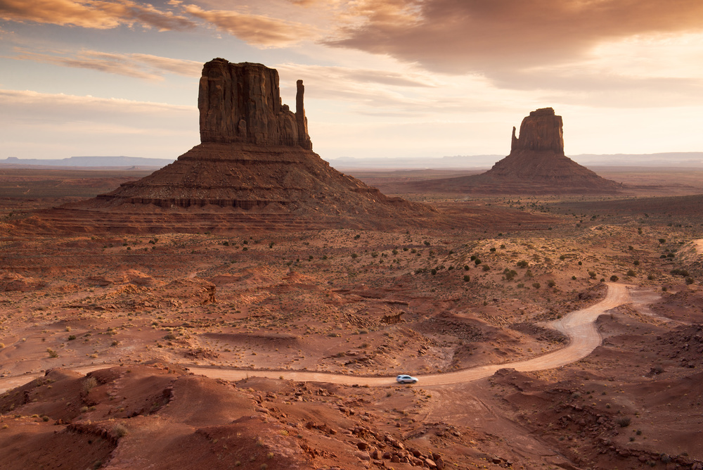 Monument Valley at sunrise, Utah