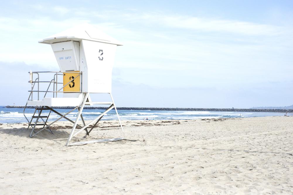 Lifeguard Stand, Ocean Beach San Diego