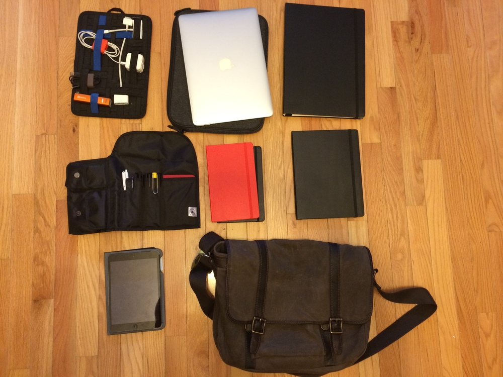 My Academic/Writing Go Bag