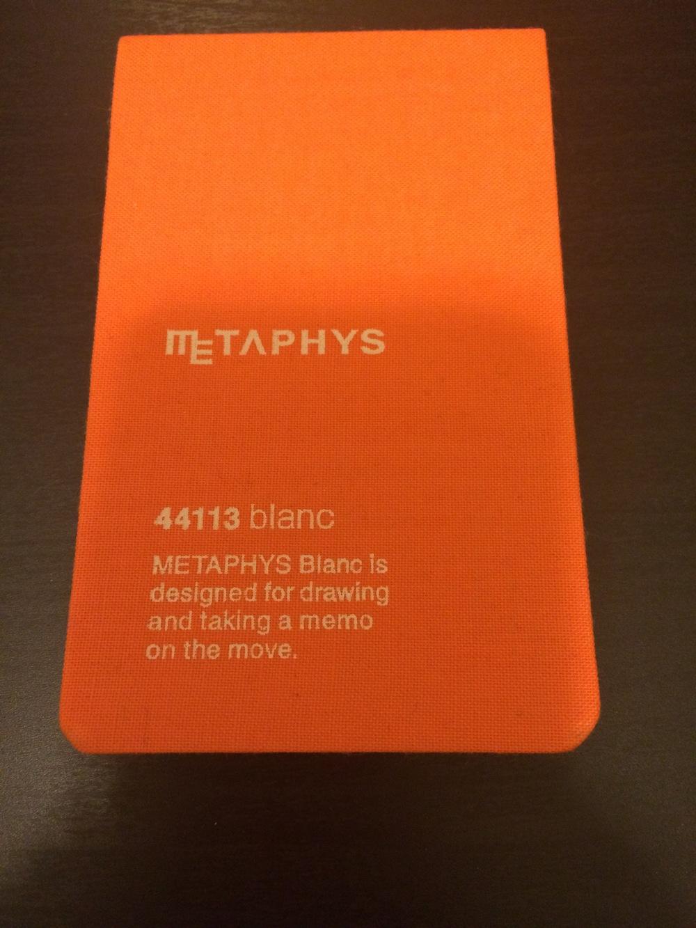 METAPHYS Notebook
