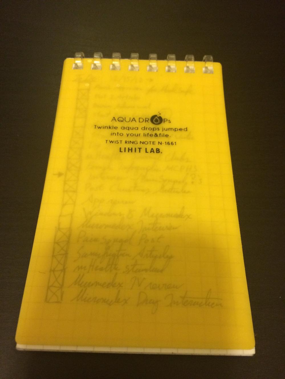 Lihit Labs Aquadrop Notebook