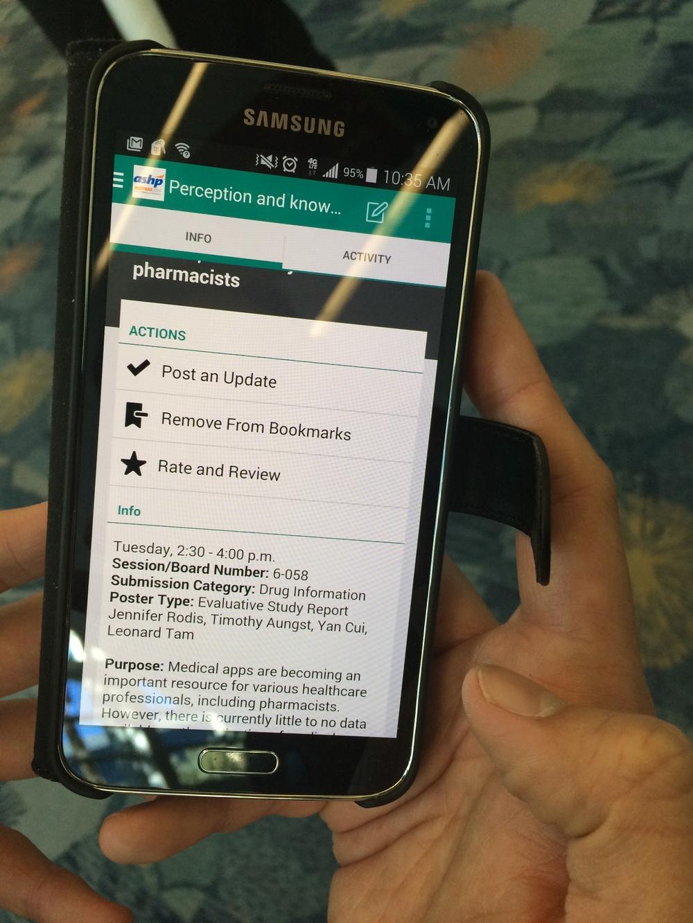 ASHP Mobile App
