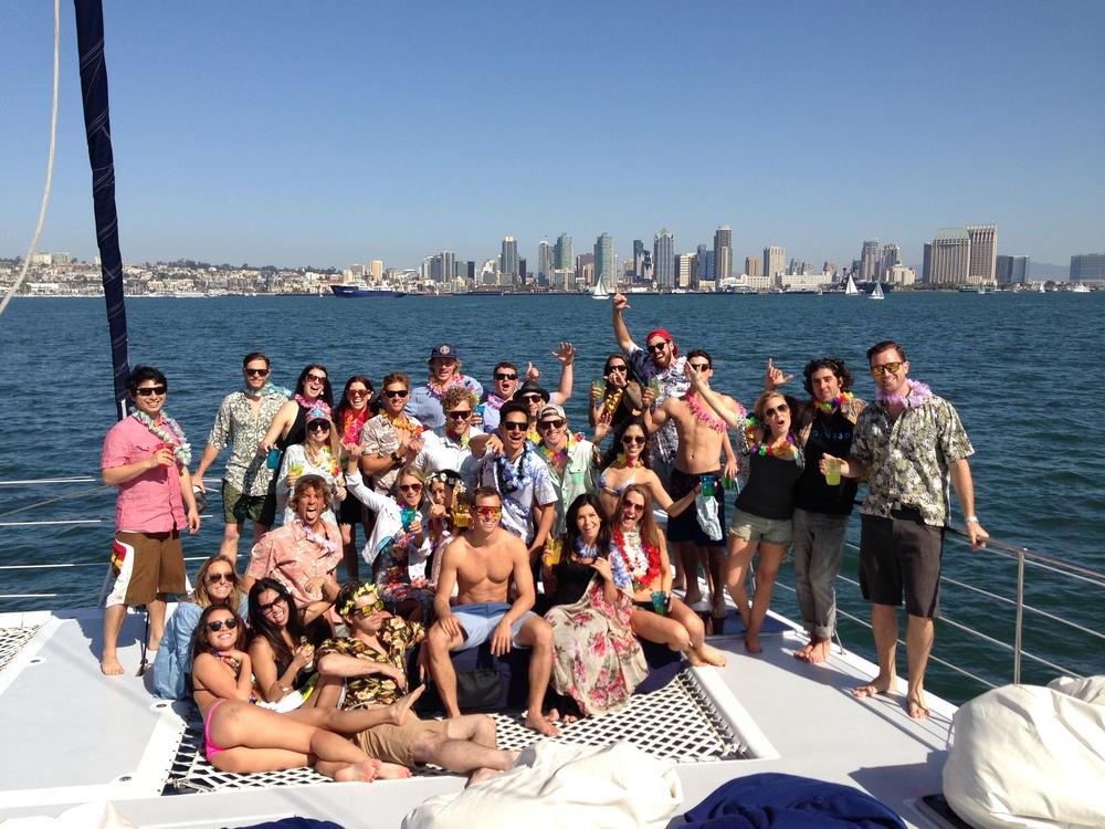 Catamaran Sailing San Diego
