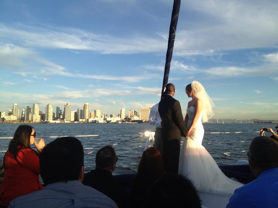 Weddings on a Yacht San Diego