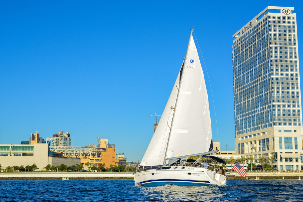 Sailing By Petco Park