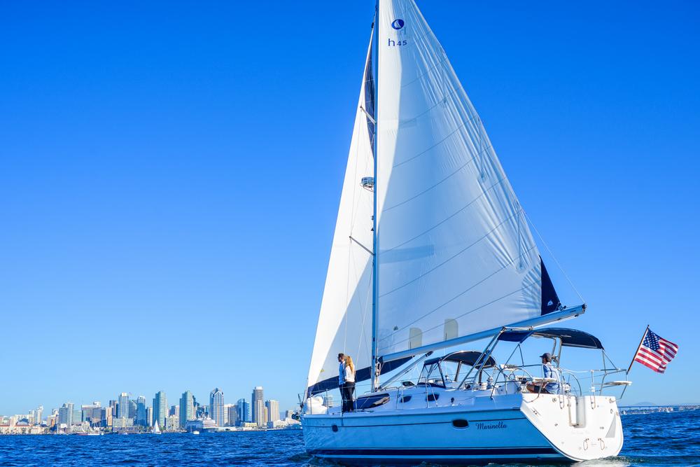 Sailing San Diego