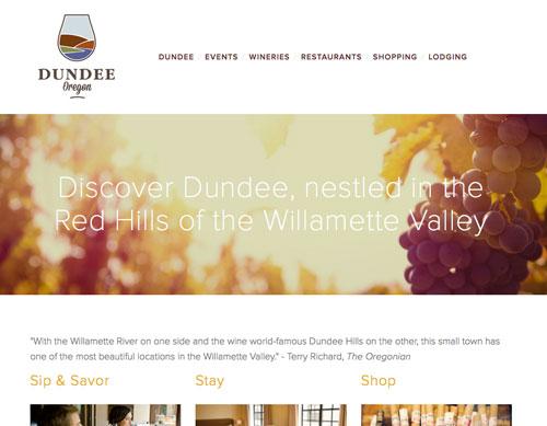 Travel Dundee Oregon