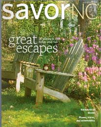 SavorNC Magazine, May 2011