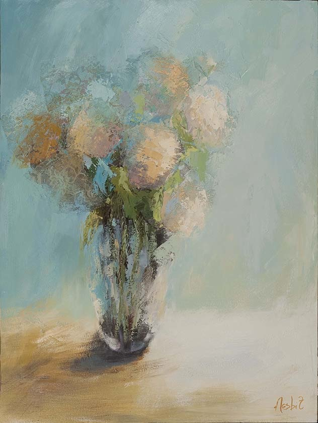 Hydrangea and Turquoiose