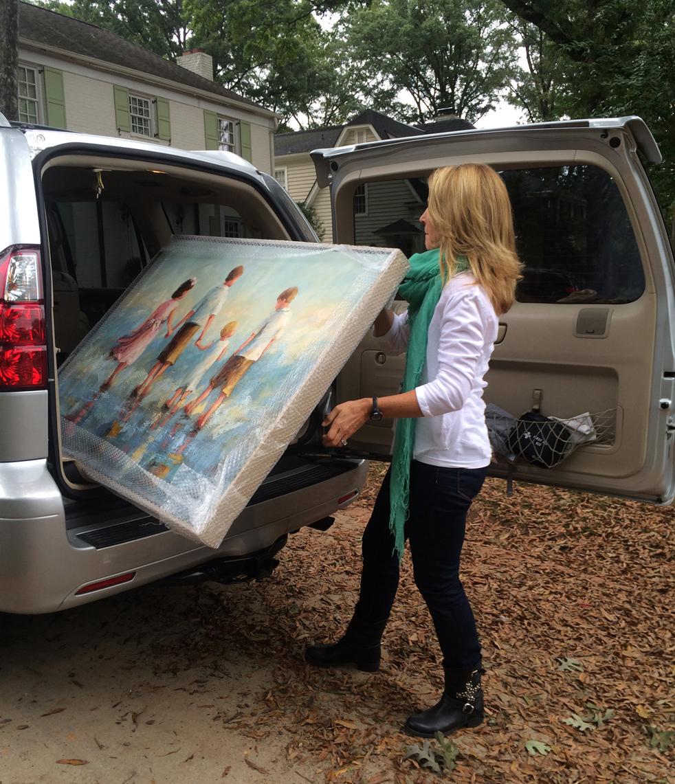 Glassner Commission Delivery, Sept 2014