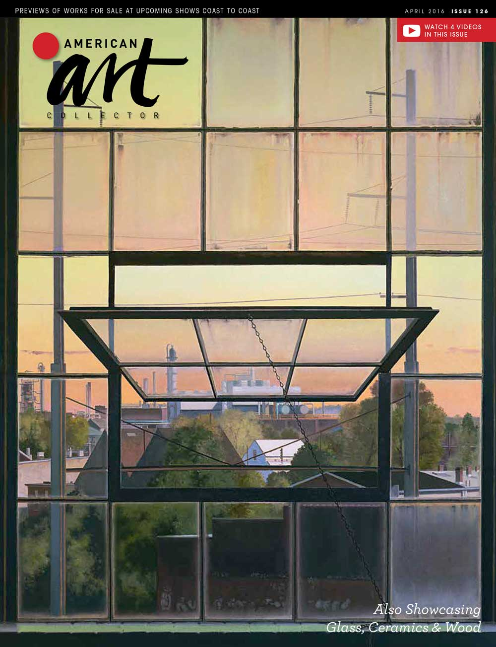 American Art Collector, April 2016