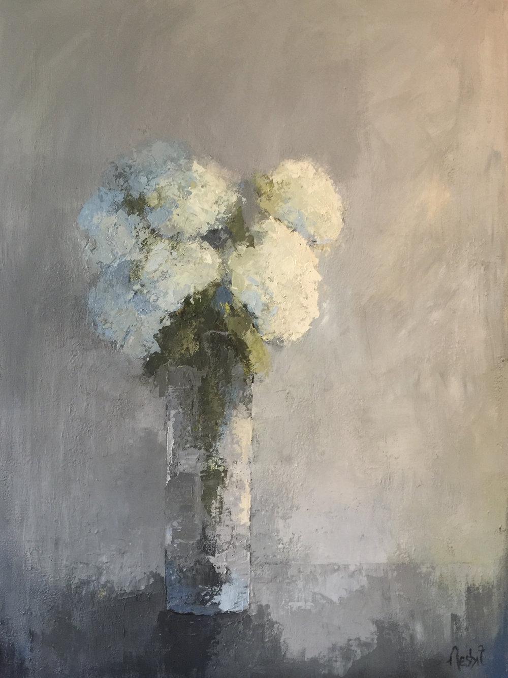 Hydrangea & Grey