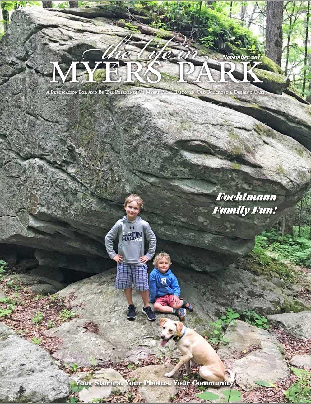 Myers Park Life: NOV 2017