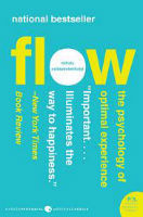 In    Flow   , author Mihaly Csikszentmihalyi explores the psychology of satisfaction in our work, how we achieve it, and the various distractions in our way. The result is an ability to transcend menial issues for total satisfaction.