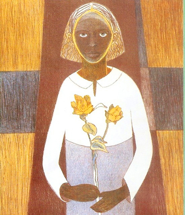 Cleo, Samella Lewis, 1996.