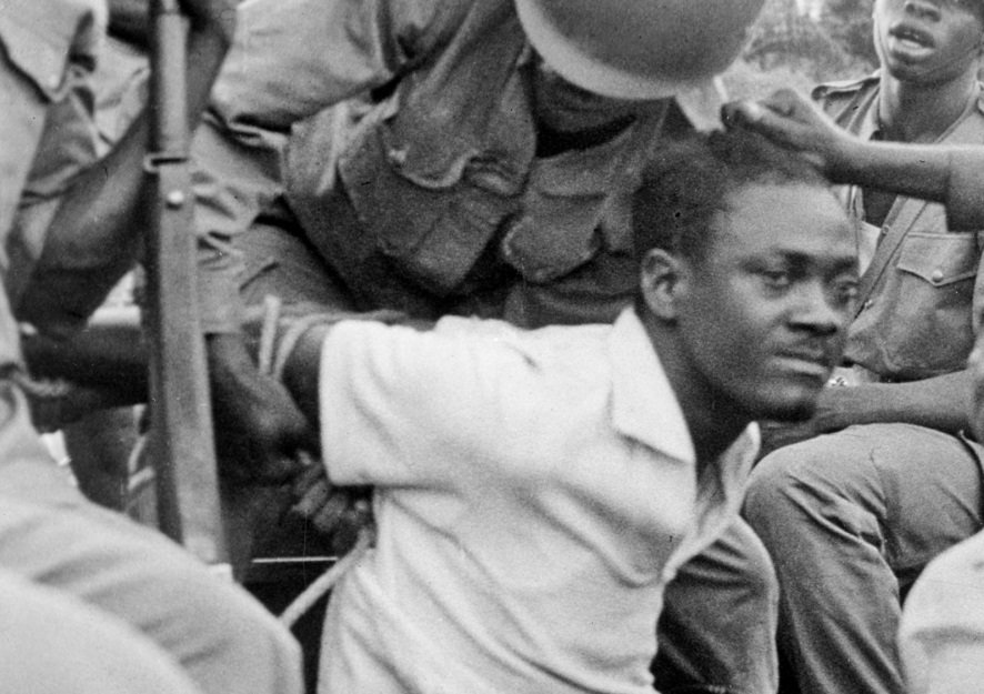 Patrice Lumumba captured by U.S. backed Colonel Mobutu forces, 1960
